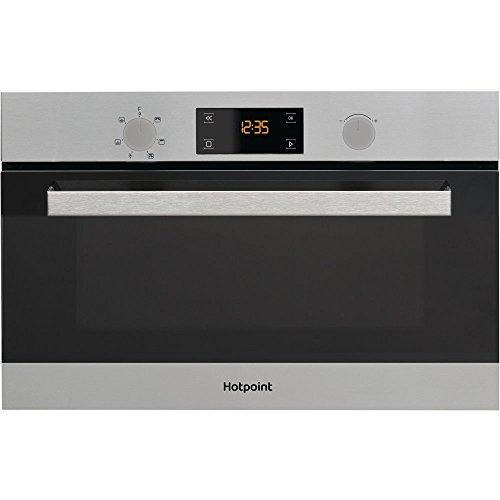 Hotpoint MD 344 IX a micro-ondes combiné encastrable 31L 1000 W Acier inoxydable Four à micro-ondes