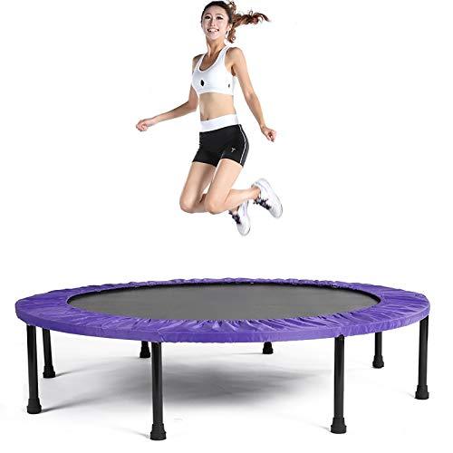 BXY Trampolín de Fitness para niños, trampolín de Interior para Adultos Cama de Resorte de Cuatro Pliegues Dispositivo de Salto aeróbico para Gimnasio