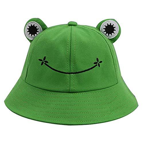 N/AB Sombrero de rana de pescador, sombrero para el sol, sombrero, sombrero, sombrero, rana, cubo, sombrero...
