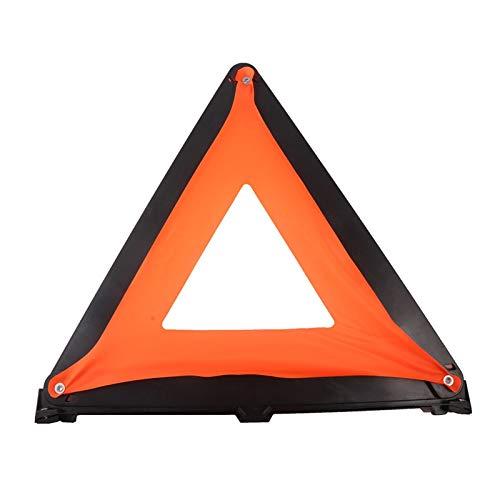 linger Avvertimento Riflettente Triangolo Avvertimento Triangolo Autonoleggio Auto Regolazione Spazio Salvataggio Piegabile Accessori per Auto a Distanza