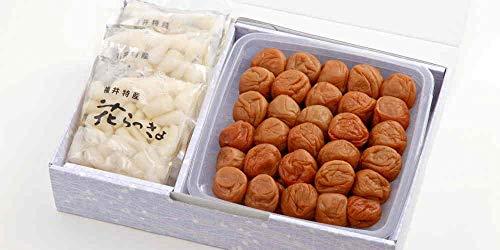 福梅ぼし 梅干し ギフト 味このみ (うす塩700g、らっきょう80g×5個)