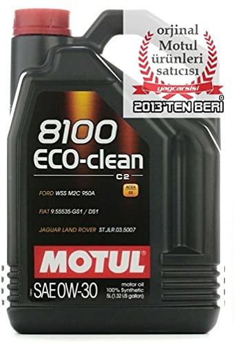 MOTUL 1028898100Eco Clean 0W-30olio motore 5l