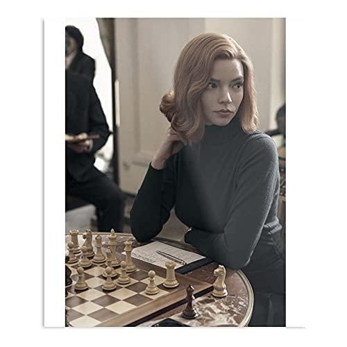 The Queen's Gambit Show Chess Monthly Checkmate - Póster de decoración de interior más impresionante y elegante disponible actualmente