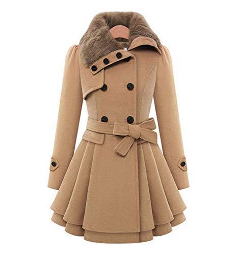 Winter Coat Women Wool Blends Coats Female Jacket Winter Woman Coat Warm Windbreaker Casual Thick Coats mm LATT LIV