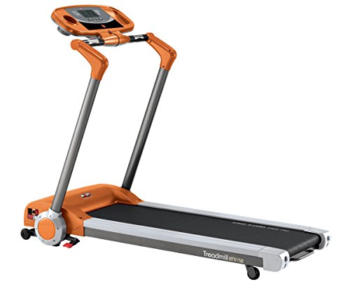 Body Sculpture Motorised Treadmill - Orange/Grey/Black