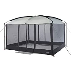 LET'S GO CAMPING: Make the Wenzel Magnetic Screen House an essential part of your summer picnics and parties! Cool off in the shade and escape pesky bugs at your next outdoor gathering. With a peak height of 7.5 feet, it's also large enough to fit ov...