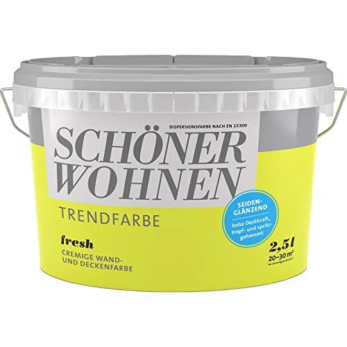 Schöner Wohnen Trendfarben - Fresh - seidenglänzend - 2,5 l