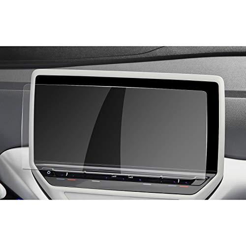 RUIYA v w ID.3 ID.4 Discover Pro Navigation Schutzfolie Displayschutzfolie für Auto Navigation Kristallklar HD Kratzfest GPS Transparent Displayschutz (10 Zoll)