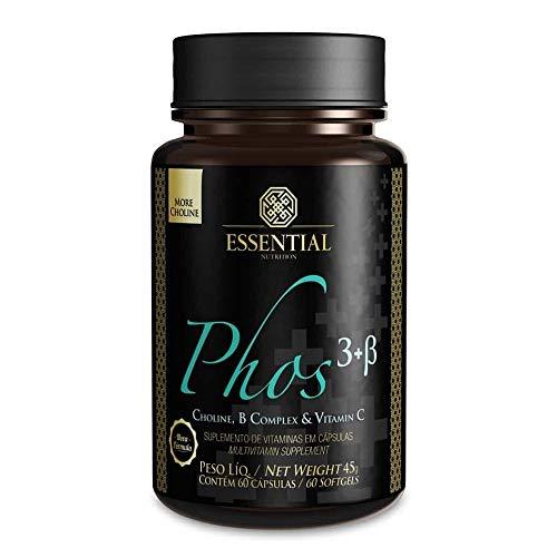 Phos3 - Lecitina de Soja (60 Cápsulas) - Essential