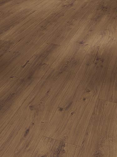 Parador Modular One - Bodenbelag Eiche Spirit Geräuchert - Elastischer Bodenbelag in Holz-Optik, schallgedämmt, mit Klick-Verlegung - ohne Weichmacher - 1285 x 194 x 8 mm