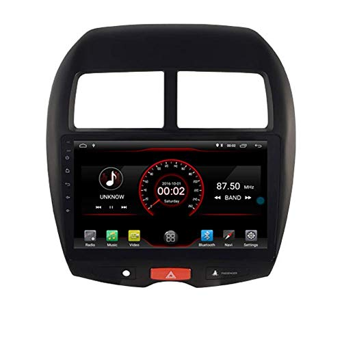 FWZJ Android 10 Car DVD Player GPS Stereo Head Unit Navi Radio Multimedia Wifi for Mitsubishi ASX RVR Outlander Sport Peugeot 4008 Support Steering Wheel Control
