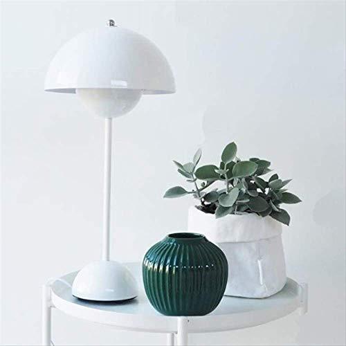 Preisvergleich Produktbild Schreibtischlampe LED Moderne Schlafzimmer Tischlampe Flowerpot lackiert Tischlicht E27 Lesen Schreibtisch Licht für Home Decor Beleuchtung Leuchte