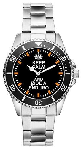 Geschenk für Enduro Biker Motorrad Fans Fahrer Kiesenberg Uhr 2117