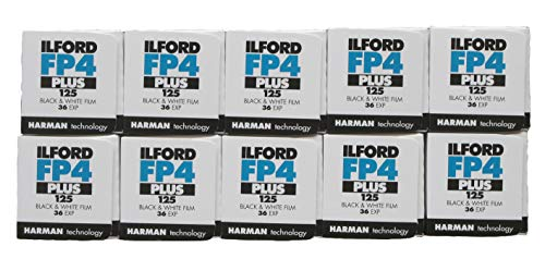 Ilford Schwarz & Weiß FP4 +, 36exp. Packung mit 10 [Kamera]