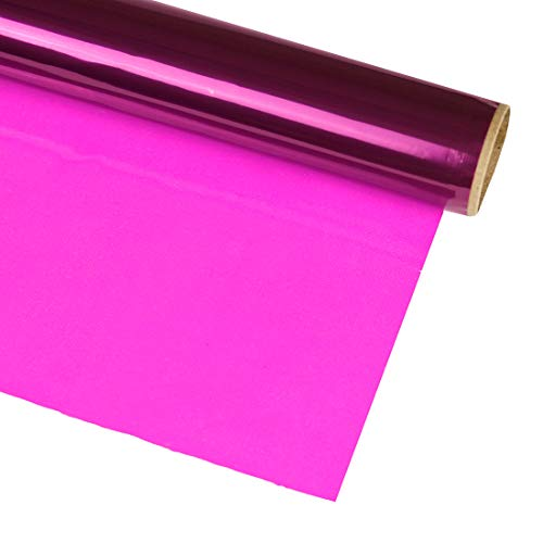 Hygloss Products Cellophane Roll – Cellophane Wrap for Crafts, Gifts, and Baskets 20 Inch x 5 Feet, Purple (n/a)