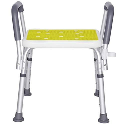 Yyqt Bad Hocker, Badehocker Seniorenduschstuhl Badesitz/Duschhocker Sitzbank/höhenverstellbar/Medizinische Bade Werkzeug for Behinderte