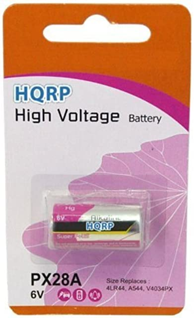 HQRP Batería 6V para Canon A-1 Ae-1 Ae-1 Program AV-1 AT-1 videocámara
