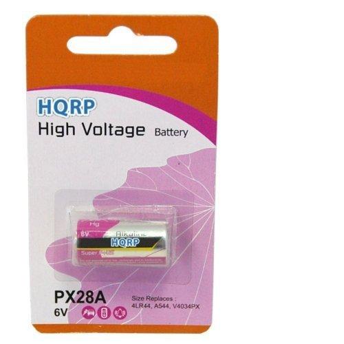 HQRP Batería 6V para Canon A-1, Ae-1, Ae-1 Program, AV-1, AT-1 videocámara