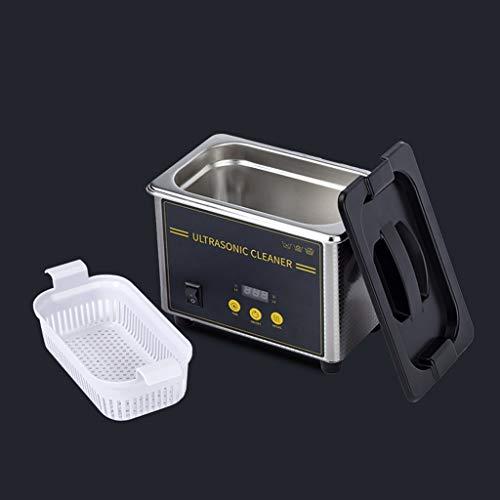 BBGS Limpiador Ultrasónico, Joyería Maquina de Limpieza para Diamantes, Oro, Plata, Anillos, Mejores Limpiadores Sónicos con Temporizador Digital Y Temperatura