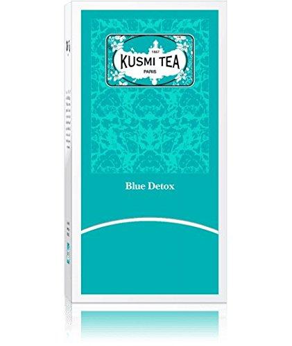 KUSMI Tea Paris - BLUE DETOX (NEU!!) - Nachfüllpackung mit 25 Teebeuteln für Geschenksets