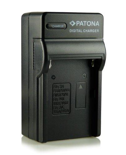 Patona® NP-FM500H - Cargador 3 en 1 para Sony Alpha 57 SLT-A57,...