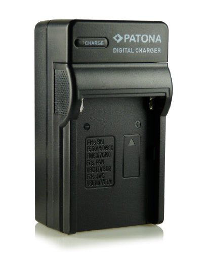 Patona® NP-FM500H - Cargador 3 en 1 para Sony Alpha 57 SLT-A57, 58 SLT-A58, 65 SLT-A65, 77 SLT-A77, 99 SLT-A99, DSLR-A200, DSLR-A300, DSLR-A350, DSLR-A450, DSLR-A500, DSLR-A550, DSLR-A560, DSLR-A580, DSLR-A700, DSLR-A850, DSLR-A900, etc.