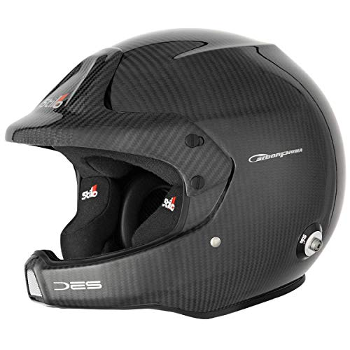 Stilo aa0210bg1 m61 WRC des Carbon Electro Rally casco, 61