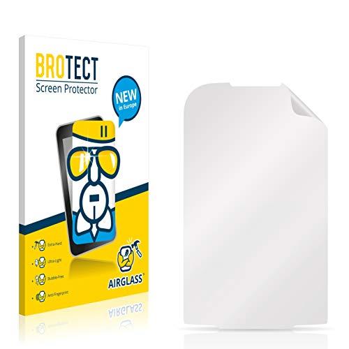 BROTECT Panzerglas Schutzfolie kompatibel mit LG Electronics P690 Optimus Net - AirGlass, extrem Kratzfest, Anti-Fingerprint, Ultra-transparent