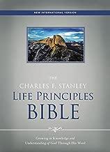 NIV, The Charles F. Stanley Life Principles Bible, Hardcover: Holy Bible, New International Version