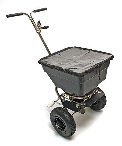 TronicXL 55 Liter XL Profi Streuhandwagen Streuwagen Streumaschine für Dünger Salz Saatgut etc. Schleuderstreuer Schleuderstreuwagen Hand