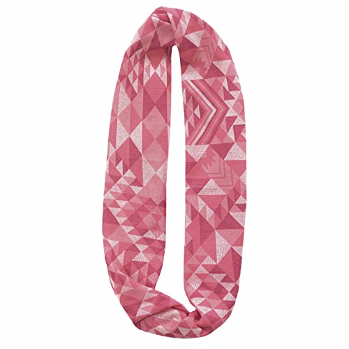 Buff 431061.00 Foulard Multifonction Jacquard Infinity, 111704.538.10.00 Taille Unique Tribe Pink