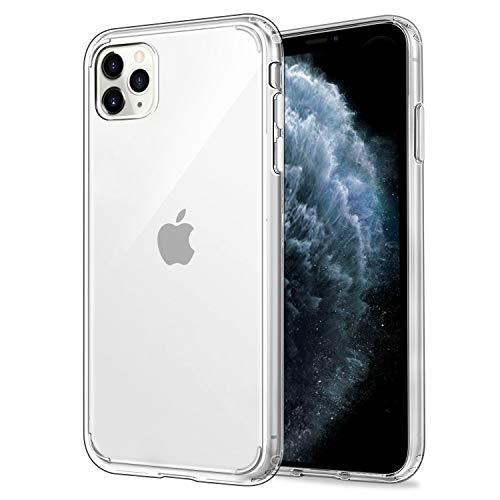 Étui EasyAcc pour iPhone 11 Pro Max / iPhone XI Pro Max, transparent [PC à dos rigide + cadre en TPU souple] Étui transparent compatible avec iPhone 11 Pro Max / iPhone XI Pro Max 6.5 ''
