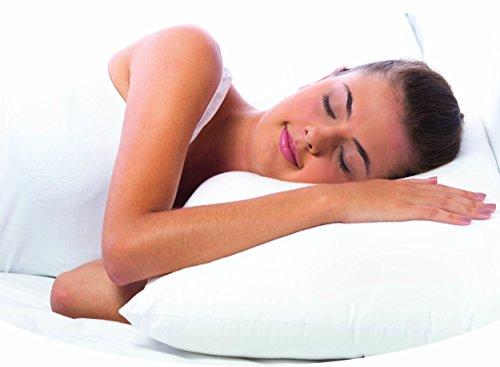 castilba Perfect Pillow -individuell anpassbares Kopfkissen- 7 Optionen für Höhe und Festigkeit (40 x 80 cm) VEGAN