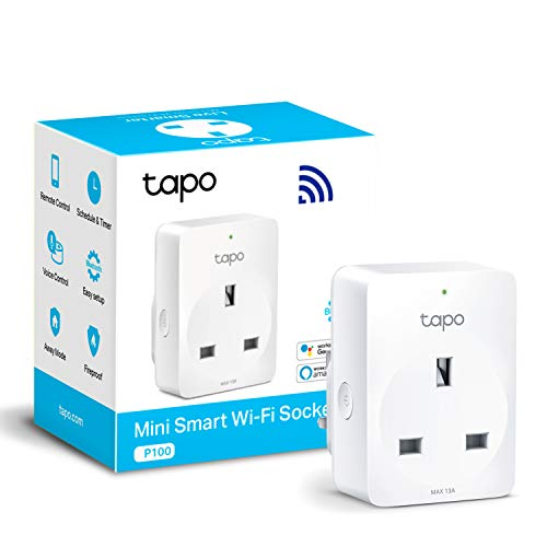TP-Link Tapo Smart Plug Wi-Fi Outlet, Works with Amazon Alexa (Echo and...