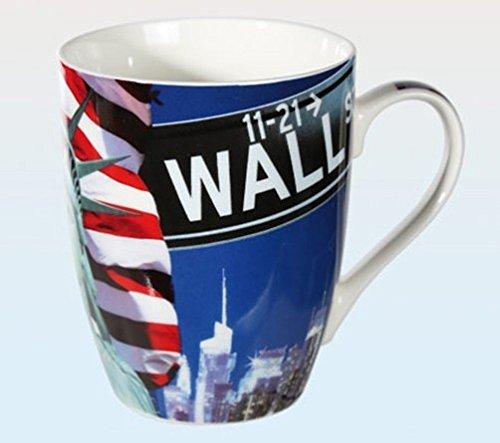 Objektkult Tasse New York Wall Street