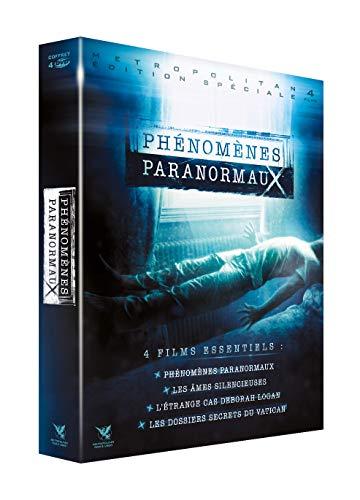Coffret phénomènes paranormaux : Phénomènes paranormaux + Les Âmes silencieuses + L'Étrange cas Deborah Logan + Les Dossiers secrets du Vatican [Francia] [DVD]