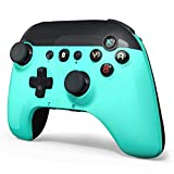 STOGA Wireless Controller for Switch/Lite Fresh Green ,Gamepad Joystick with 6-Axis Gyro,Auto Turbo,Cute Gamepad Joypad Remote Replacement for Nintendo Switch controller