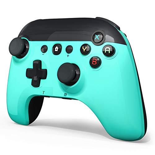 BestOff Wireless Controller für Nintendo Switch, Pro Dual Shock Switch Controller, Turbo Funktionen Wireless Controller, Remote Controller für Switch, PC