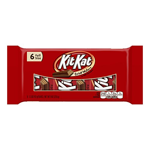 Kit Kat Wafer Bars (6-Count, 9-Ounce)