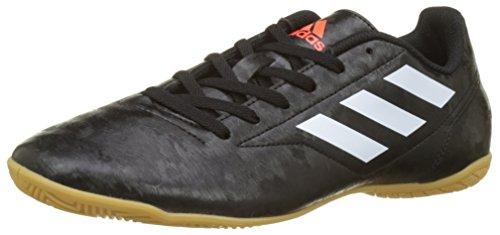 adidas Herren Conquisto II IN Fußballschuhe, Mehrfarbig (Core Black/FTWR White/solar Red), 40 2/3 EU