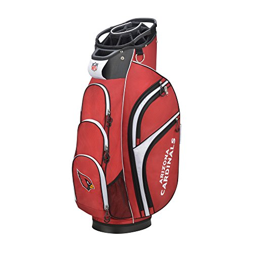 Lowest Prices! Wilson 2018 NFL Golf Cart Bag, Arizona Cardinals