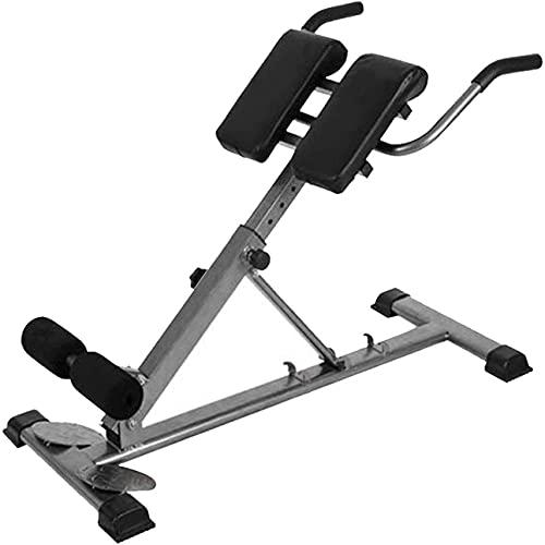 KZKR - Banco de musculación romano multifuncional para abdominales plegable, altura ajustable para crunchs y extensiones abdominales, equipo de fitness en casa