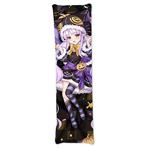 Saicowordist Princess Connect! Re:Dive Anime Kyouka Hikawa - Funda de almohada de doble cara con estampado de personajes de anime, Piel de melocotón, XX-Large