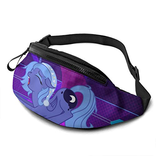 My Little Pony Purple Style Waist Pack Bag Casual Fanny Pack for Men & Women With Adjustable Belt Sports Bag Running Bag Keep Fit With Exercise Jogging, Hiking Chest Pack Shoulder Bag
