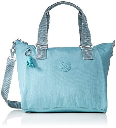 Kipling - Amiel, Bolsos maletín Mujer, Azul Aqua