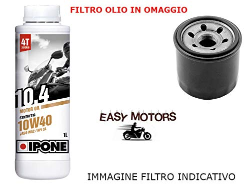 Genérico Motorrad WARTUNGSSATZ KIT Motor ÖL Marke IPONE + ÖLFILTER PGO Buggy/Bug Rider 150