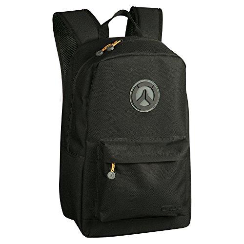 JINX - Rucksack Overwatch Blackout Game Backpack, Schwarz/Grau, 889343086656