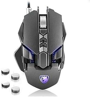 Sades Spirit Blade Mechanical RGB Gaming Mouse - 3200 DPI - Grey