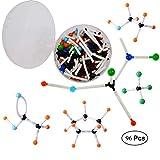 mengger Modelos Moleculares Kit 96pcs Química Orgánica e Inorgánica Química Científica atomía...