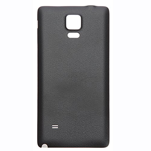 UU FIX Tapa de Batería para Samsung Galaxy Note 4 N910(Negro) de...